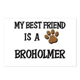 My best friend is a BROHOLMER Postcards (Package o