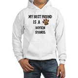 My best friend is a BOYKIN SPANIEL Hoodie