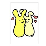 Luv Buns Postcards (Package of 8)