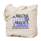 Needs A Cure PROSTATE CANCER Tote Bag