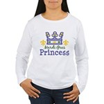 Mardi Gras Princess Women's Long Sleeve T-Shirt