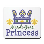Mardi Gras Princess Mousepad