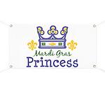 Mardi Gras Princess Banner