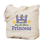 Mardi Gras Princess Tote Bag