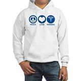 Peace Love Nursing Jumper Hoody