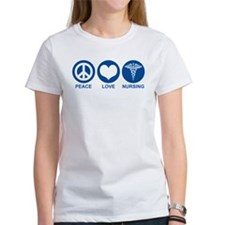 Peace Love Nursing Tee
