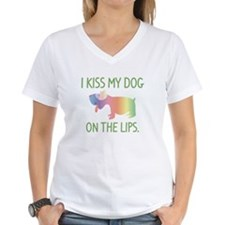 I Kiss My Dog On The Lips Shirt