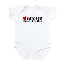 Nurses Make It Better Infant Bodysuit