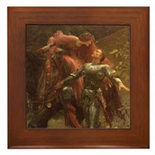 La Belle Dame sans Merci Framed Tile
