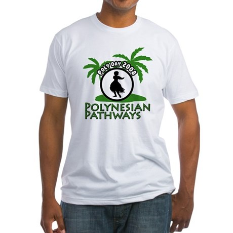 Polynesian Pathways Poly Day Fitted T-Shirt