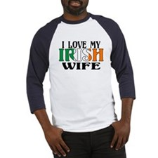 I Love My Irish Wife Baseball Jersey