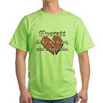 Everett broke my heart and I hate him Green T-Shir