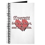 Everett broke my heart and I hate him Journal