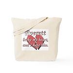 Everett broke my heart and I hate him Tote Bag