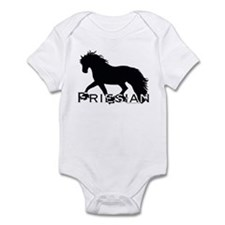 Friesian Horse Infant Bodysuit