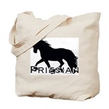 Friesian Horse Tote Bag