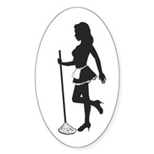 Domestic Diva Oval Decal