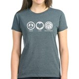 Peace Love Basketball Tee