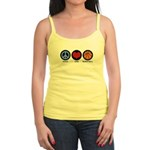 Peace Love Basketball Jr. Spaghetti Tank
