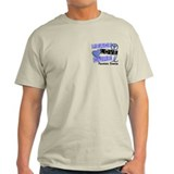 PEACE LOVE CURE Prostate Cancer T-Shirt