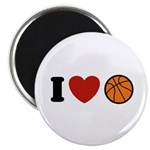 I Love Basketball Magnet