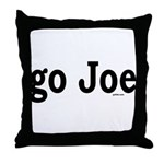 go Joe Throw Pillow