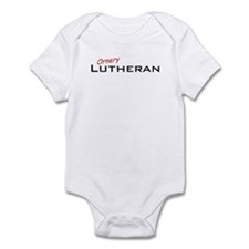Ornery Lutheran Infant Bodysuit
