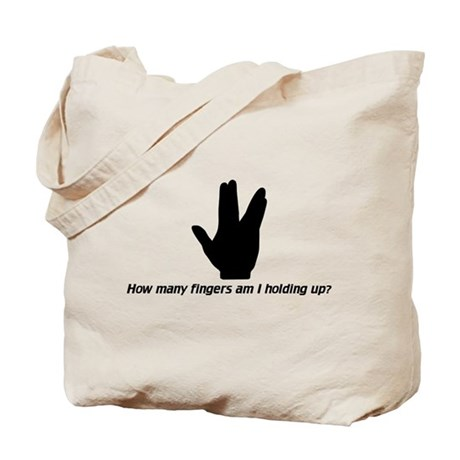 Vulcan Sign Tote Bag
