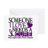 Needs A Cure CROHNS (L1) Greeting Cards (Pk of 10)