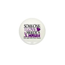 Needs A Cure CROHNS (L1) Mini Button (100 pack)
