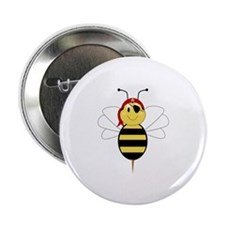 "Arrr!Bee Bumble Bee 2.25"" Button (100 pack)"