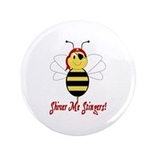 "Shiver Me Stingers 3.5"" Button (100 pack)"