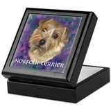 "Norfolk Terrier ""Sassy"" Keepsake Box"