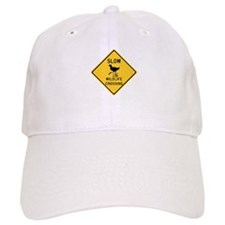 Slow Wildlife Crossing, Australia Baseball Cap