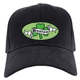 Boston on Shamrock Baseball Hat