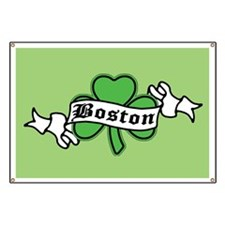 Boston on Shamrock Banner