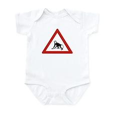 Watch Out For Monkeys, Saudi Arabia Infant Bodysui