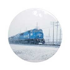Cool Norfolk southern Ornament (Round)