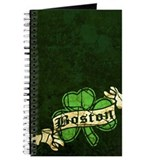 Retro Boston Shamrock Journal