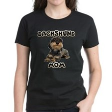 Wirehaired Dachshund Mom Tee