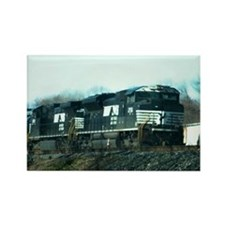 Funny Norfolk southern Rectangle Magnet