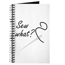 Sew what? Journal