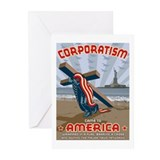 Corporatism Greeting Cards (Pk of 10)
