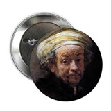 "Faces ""Rembrandt"" 2.25"" Button"