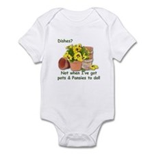 Pots & Pansies Infant Bodysuit