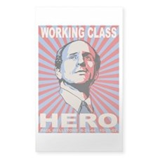 Paul Wellstone Rectangle Decal
