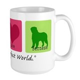 Peace Love Bernese Mug