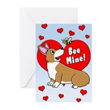 Be Mine Corgi Valentines (Pk of 20)