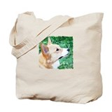 Profile Watercolor Corgi Tote Bag