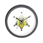 Douglas Sheriff Wall Clock